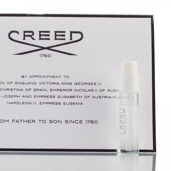 Creed Silver Mountain Water Samples 2ml official
