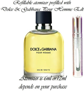 Dolce and Gabbana Pour Homme Samples