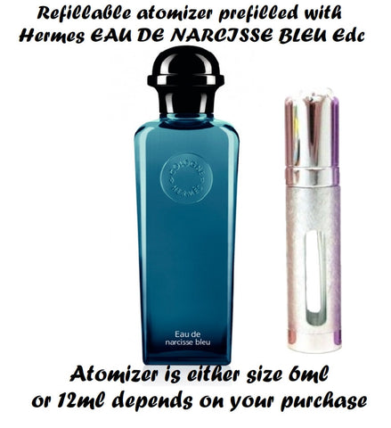 Hermes EAU DE NARCISSE BLEU samples