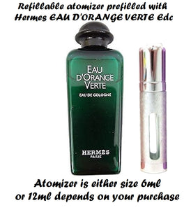 Hermes EAU D'ORANGE VERTE samples