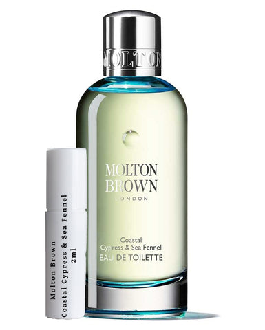 Molton Brown Coastal Cypress & Sea Fennel samples 2ml
