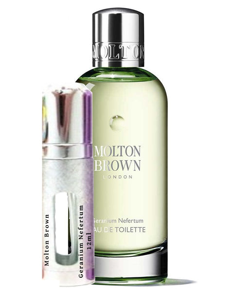 Molton Brown Geranium Nefertum vials 12ml