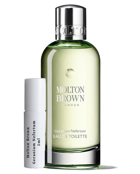 Molton Brown Geranium Nefertum samples 2ml