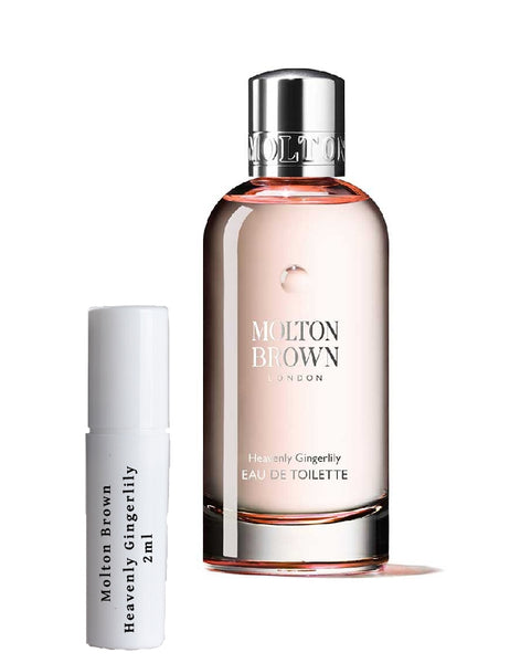 Molton Brown Heavenly Gingerlily samples 2ml