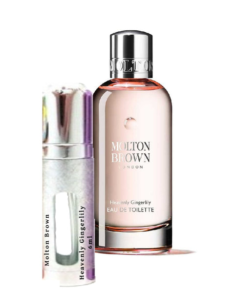 Molton Brown Heavenly Gingerlily sample vial 6ml