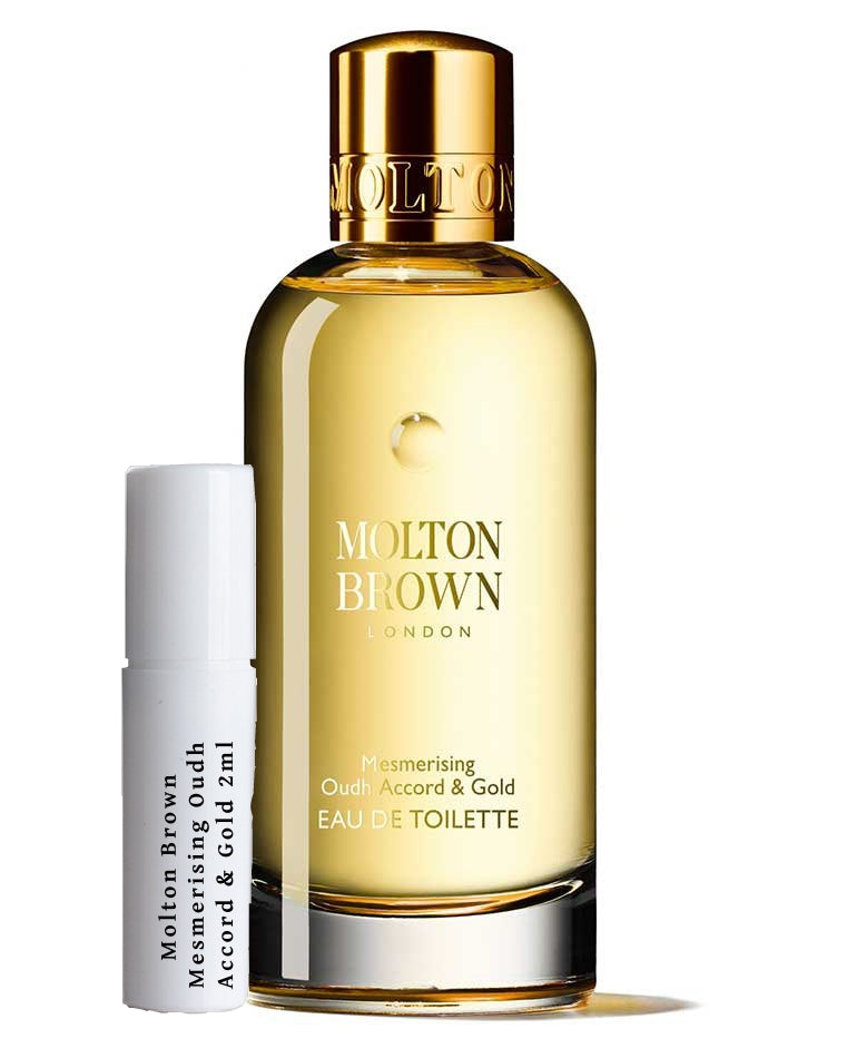 Molton Brown Mesmerising Oudh Accord & Gold samples 2ml