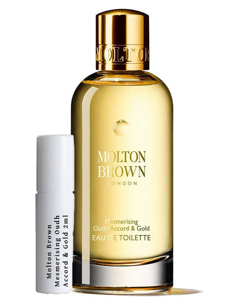 Molton Brown mesmerizing Oudh Accord & Gold prøver 2 ml