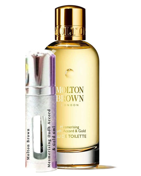 Molton Brown mesmerizing Oudh Accord & Gold prøvehætteglas 6 ml