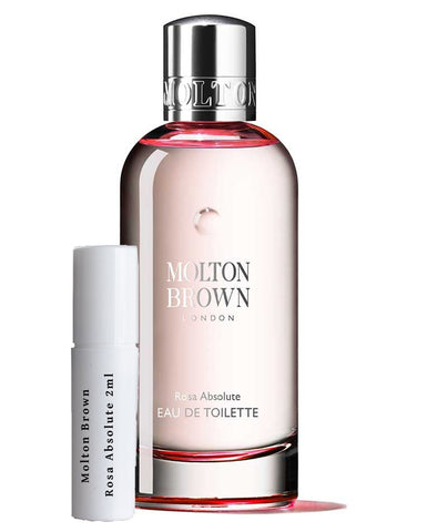 Molton Brown Rosa Absolute samples 2ml