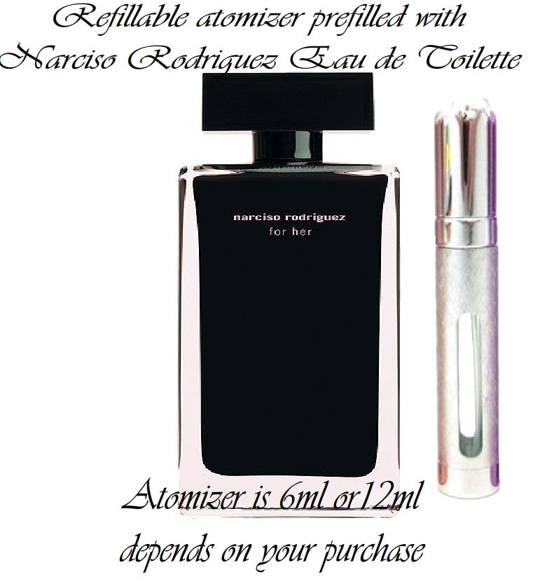 Narciso Rodriguez For Her Eau De Toilette perfume sample spray