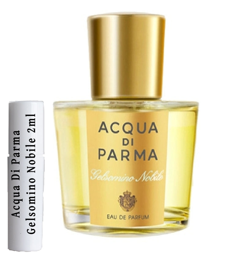 Acqua Di Parma Gelsomino Nobile sample vials