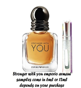 Emporio Armani Stronger With You Samples
