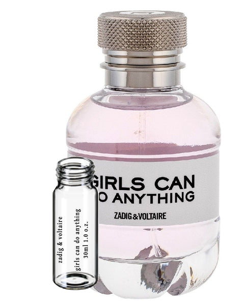 zadig & voltaire girls can do anything samples 30ml 1.0 o.z.