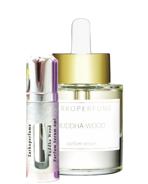 Zarkoperfume Buddha Wood Parfum Serum sample vial 6ml