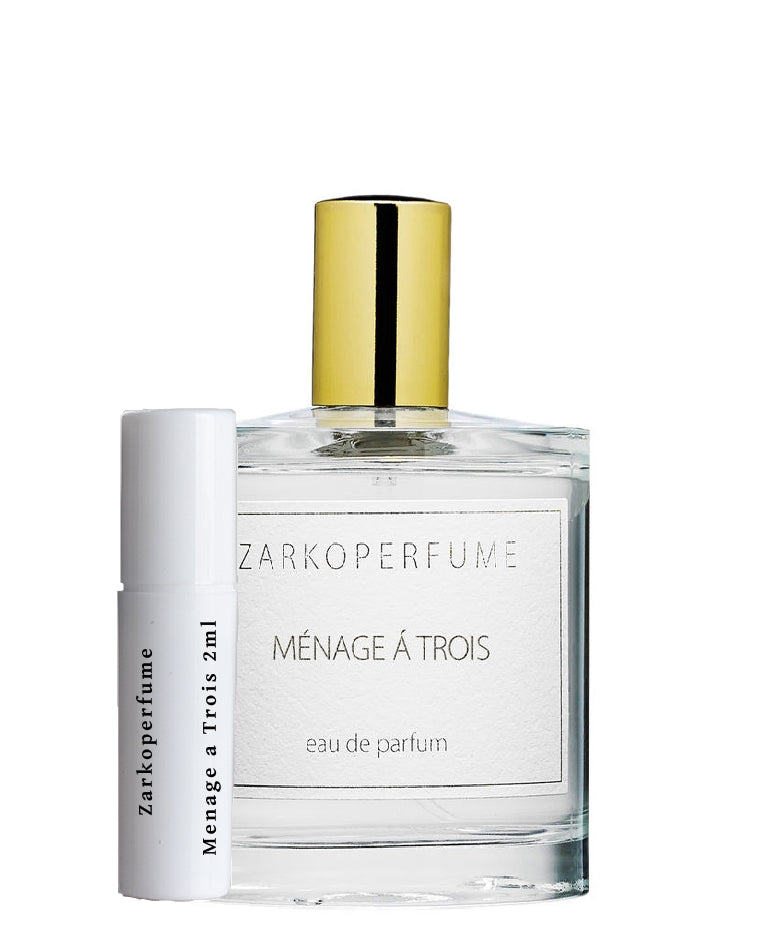 Zarkoperfume Menage A Trois sample vial 2ml