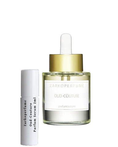 Zarkoperfume Oud-Couture Parfum Serum samples 2ml