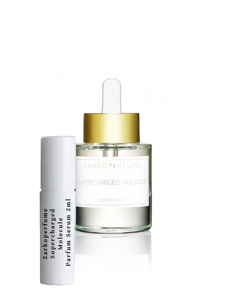 Zarkoperfume Supercharged MOLéCULE Parfum Serum samples 2ml