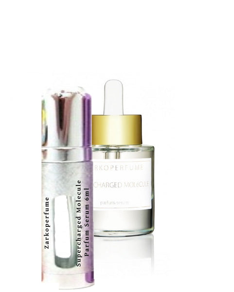 Zarkoperfume Supercharged MOLéCULE Parfum Serum samples 6ml