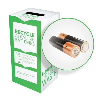 Alkaline Batteries - Recyclaholics Zero Waste Box™