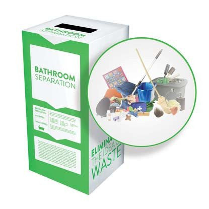 Bathroom Separation - Recyclaholics Zero Waste Box™