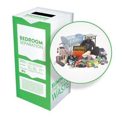 Bedroom Separation - Recyclaholics Zero Waste Box™