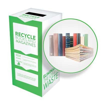Books, Magazines, Notebooks and Jotters - Recyclaholics Zero Waste Box™