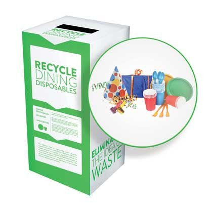 Dining Disposables and Party Supplies - Recyclaholics Zero Waste Box™