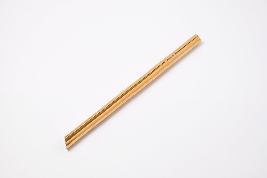Gold Milk Tea Straw