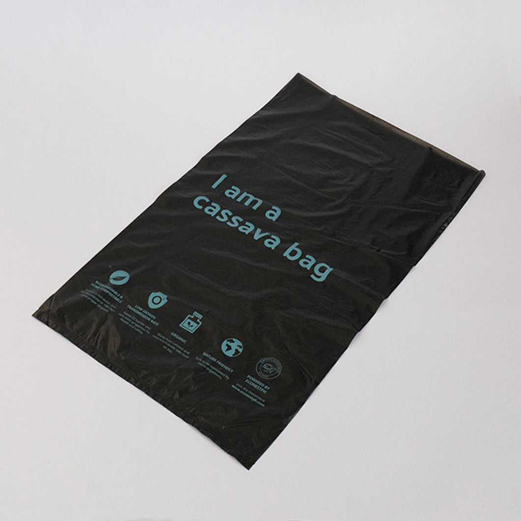 Seal Cassava Mailer Bag (50 pcs.) - Black