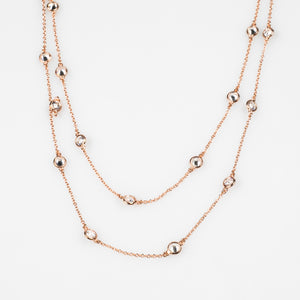 Diamond By-The-Metre Necklace in gold plated