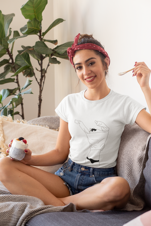 Lazy Day Line Tee