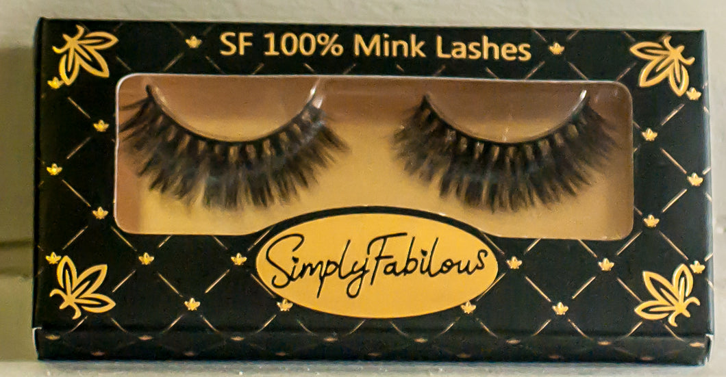 SF 100% Mink Lashes
