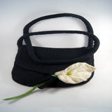 Navy Black Bag
