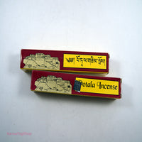 Best organic Tibetan handmade buddhist Potala Incense scent sticks fair trade homemade in nepal.