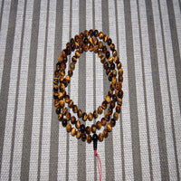 Small Tiger Eye Tibetan meditation prayer Mala guru prayer beads 8mm to 10 mm.
