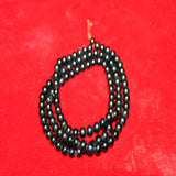 Unique authentic black crystal mala and wholesale price online buddhist prayer beads mala.