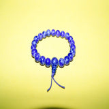 Authentic fair trade cheap price tibetan Lapis Lazuli healer beads wrist mala bracelet handmade jwellery.