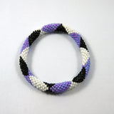 Fair trade rebel flower roll on authentic cheap fashionable bracelet made for women originally handmade in nepal.