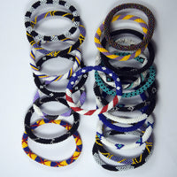 fashionable 3 for 18 authentic roll on trendy and fair trade bracelet handmade in nepal.