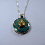 Buddhist ethic Tibetan Awakening buddha pendent good luck charm jwellery beautiful product items.