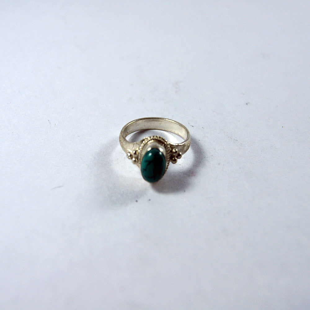 Simple turquouse ring