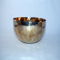 Antique fair trade buddhist healer master Tibetan singing meditation bowl for online sale.