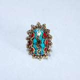 Vintage Moha serpent ring