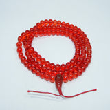 Unique Buddhist authentic fashionable carnelian Japa Mala handmade cheap price fair trade mala.