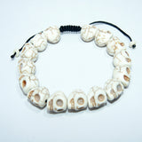 Authentic handmade cheap price Skull Wrist Mala fair trade unique fashionable jwellery.
