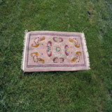 Buddhism based buddhist specially handmade simple square Mandala carpet for sale online buy.