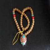 Tiny buddha chitta mala tibetan pendent buddhist authentic jwellery from timal wholesale price online.