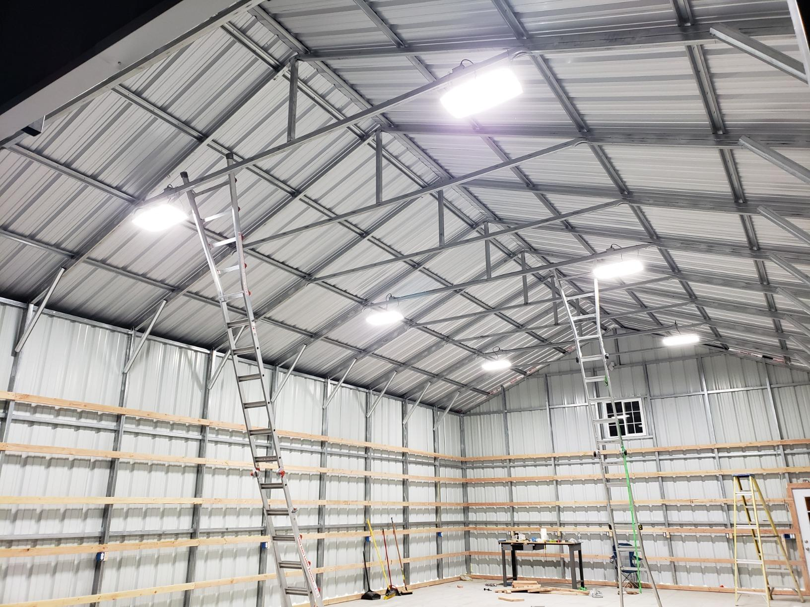 High Bay LED Lighting: Reduce Risks Involved With Working at Height