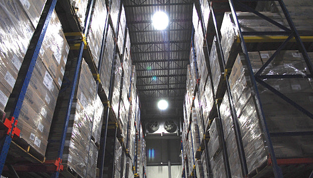 Why LED UFO lights are considered for a warehouse?