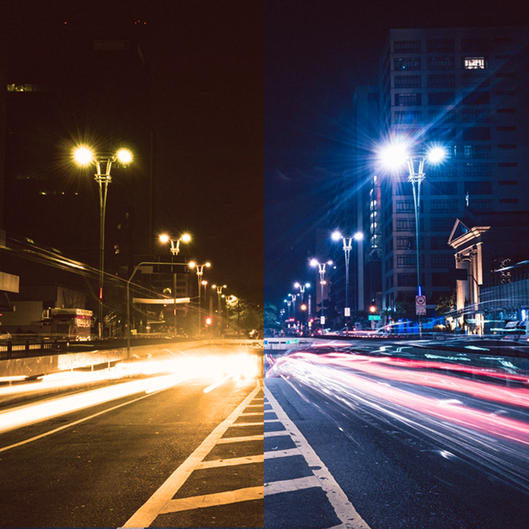 Quick Comparison between LED Street Light and Traditional Lights